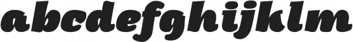 Arturo Heavy Italic otf (800) Font LOWERCASE