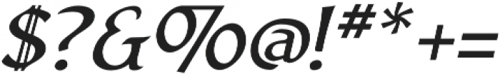 Arturo Italic otf (400) Font OTHER CHARS