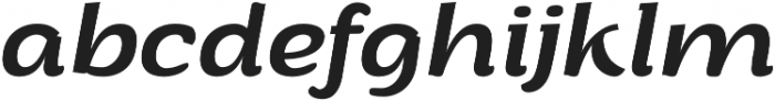 Arturo otf (400) Font LOWERCASE