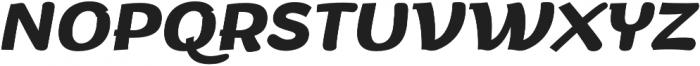 Arturo otf (700) Font UPPERCASE