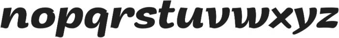 Arturo otf (700) Font LOWERCASE