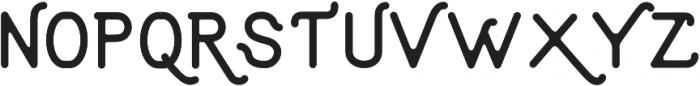 Aruna Rounded Regular ttf (400) Font UPPERCASE