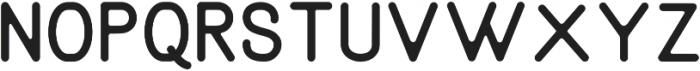 Aruna Rounded Regular ttf (400) Font LOWERCASE