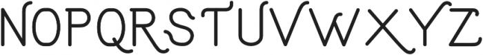 Aruna Thin Regular ttf (100) Font UPPERCASE