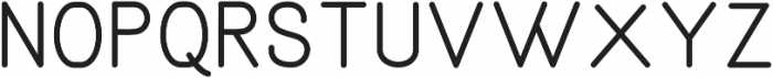 Aruna Thin Regular ttf (100) Font LOWERCASE