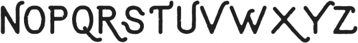 Aruna Vintage Regular ttf (400) Font UPPERCASE