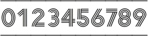 Arya Triple Capsule otf (400) Font OTHER CHARS