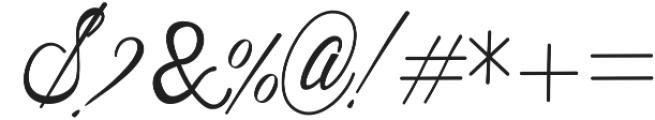 araura otf (400) Font OTHER CHARS