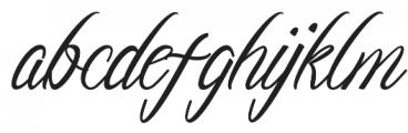 araura otf (400) Font LOWERCASE
