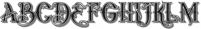 artedoms Regular ttf (400) Font UPPERCASE