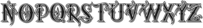 artedoms Regular ttf (400) Font UPPERCASE