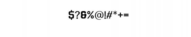 ARGANDE-Regular.ttf Font OTHER CHARS