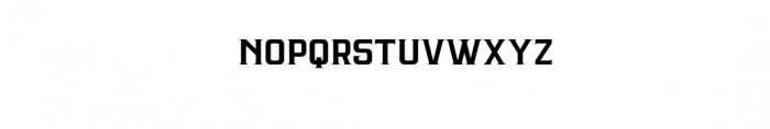 ARGANDE-Regular.ttf Font LOWERCASE