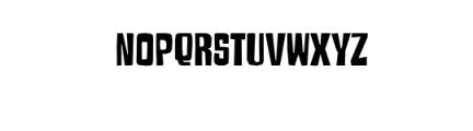 Armageda Typeface Font LOWERCASE