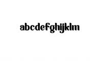 Aropuck.otf Font LOWERCASE