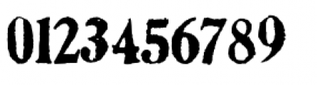 Artistamp Wet Jumbled Font OTHER CHARS