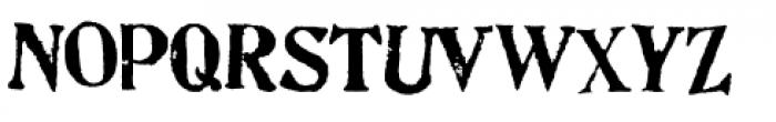 Artistamp Wet Jumbled Font LOWERCASE
