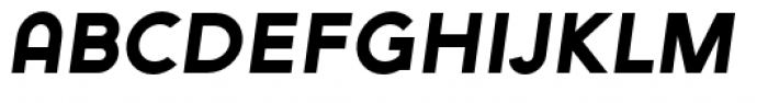 Arya Single Slant Font LOWERCASE