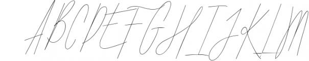 ARK Seychelle - Exotic Monoline Font Font UPPERCASE