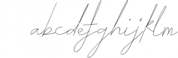 ARK Seychelle - Exotic Monoline Font Font LOWERCASE