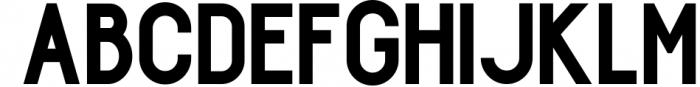 Arpeggio l Font Duo&6 Logo Templates 1 Font UPPERCASE