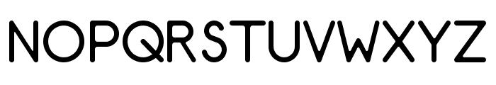 AR Techni Font UPPERCASE