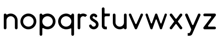 AR Techni Font LOWERCASE
