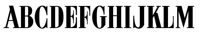 ARB 08 Extreme Roman AUG-32 CAS Normal Font UPPERCASE