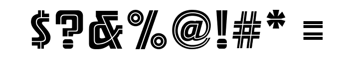 ARB 66 Neon Line JUN-37 Font OTHER CHARS