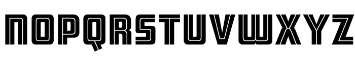 ARB 66 Neon Line JUN-37 Font UPPERCASE
