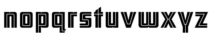 ARB 66 Neon Line JUN-37 Font LOWERCASE