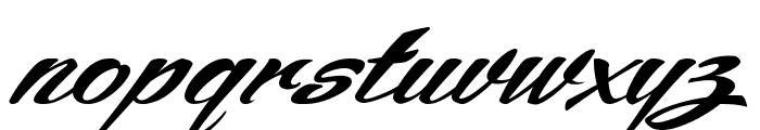 ARB245 Spencerian Script JUN-52 Normal Font LOWERCASE