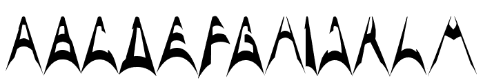 ARCH ENEMY Font LOWERCASE