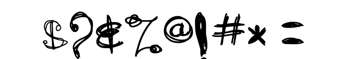ARG219am Font OTHER CHARS