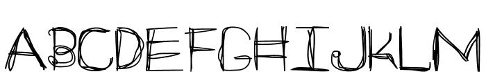 ARG219am Font UPPERCASE