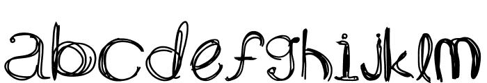 ARG219am Font LOWERCASE