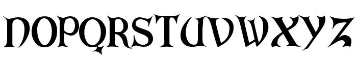ARKHAM Bold Font UPPERCASE