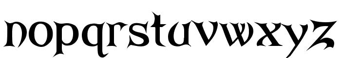 ARKHAM Bold Font LOWERCASE