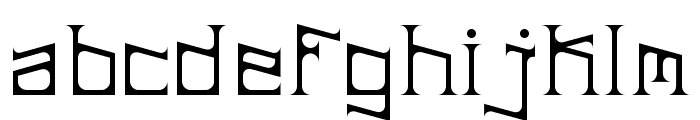 ArDeck Regular Font LOWERCASE