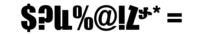 ArTarumianBakhum Font OTHER CHARS