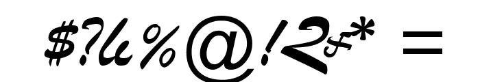 ArTarumianGovazd  Italic Font OTHER CHARS