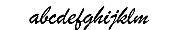 ArTarumianGovazd  Italic Font LOWERCASE