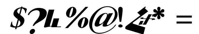 ArTarumianGrqiNor  Bold Italik Font OTHER CHARS