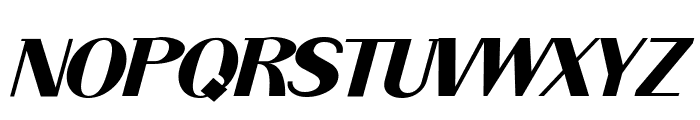 ArTarumianGrqiNor  Bold Italik Font UPPERCASE