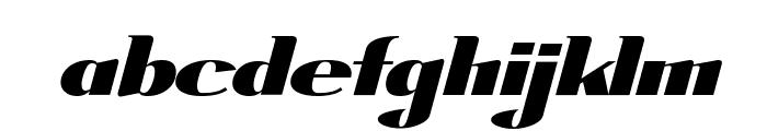 ArTarumianGrqiNor  Bold Italik Font LOWERCASE