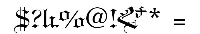ArTarumianHamagumar Font OTHER CHARS