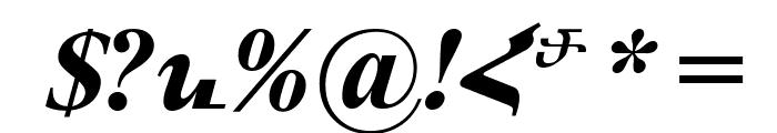 ArTarumianMatenagir  Bold Italic Font OTHER CHARS