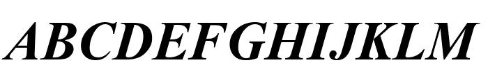 ArTarumianMatenagir  Bold Italic Font UPPERCASE