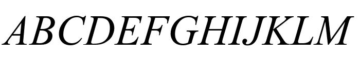 ArTarumianMatenagir  Italic Font UPPERCASE