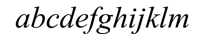 ArTarumianMatenagir  Italic Font LOWERCASE